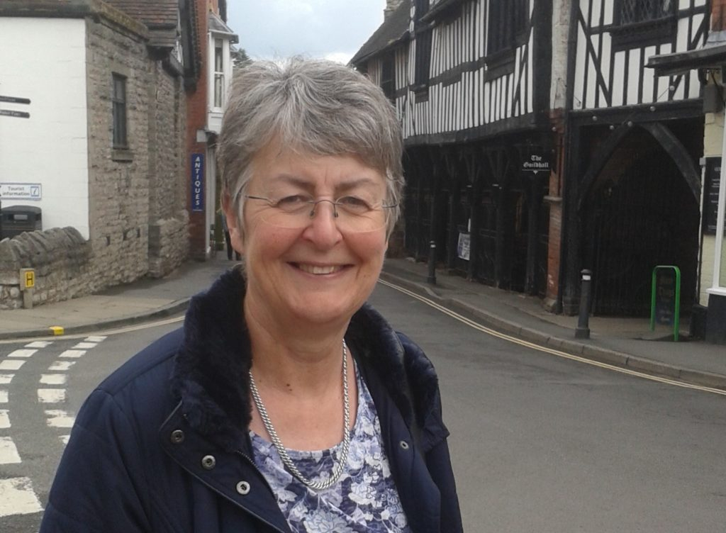 Heather Kidd in Much Wenlock
